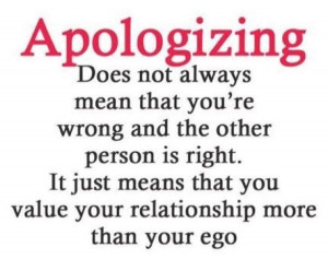 relationship more than your ego or that you value your relationship ...
