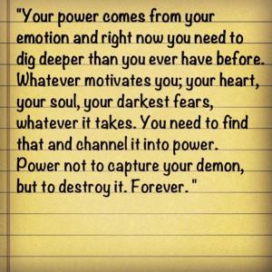 digdeep #innerdemon #strength #willpower