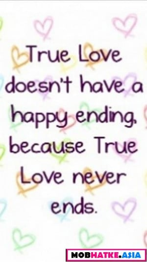 Have Happy Ending Because...