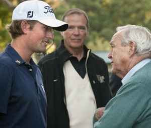 Webb Simpson and the King