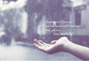 Dream is Like Teardrop In Rain 36