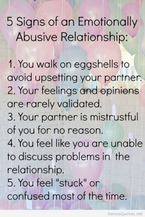 Quotes About Abusive Relationships Abusive Relationship