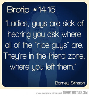 funny nice guys friendzone quote