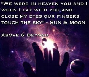 above && beyond