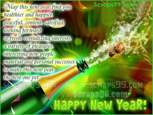 new year2015 scraps , new year pictures for facebook ,A warm New Year ...