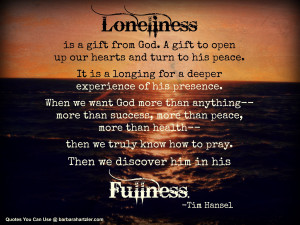 Quotes You Can Use: Loneliness