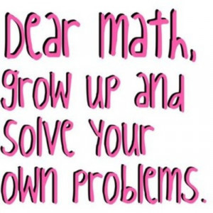 Solve your own problem.