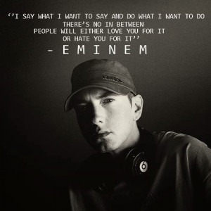 Eminem Quotes About Haters ~eminem