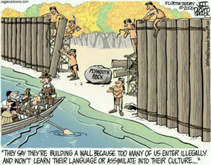 illegal immigration started in 1492!