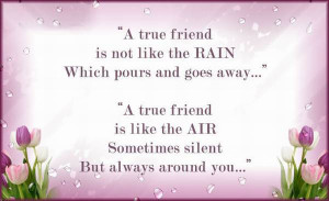 True friend quotes to define best friend and what is a true friend.