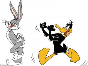 Bugs Bunny Wallpaper 1600x1200 Bugs, Bunny, Looney, Tunes, Daffy, Duck