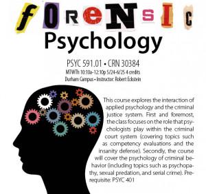 Forensic Psychology Forensic psychology psyc