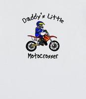 Daddy's Little Motocrosser Child's TShirt (Boy) - Cool motocross ...