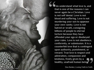 Love is one reason I can never again be a Christian – Dan Barker