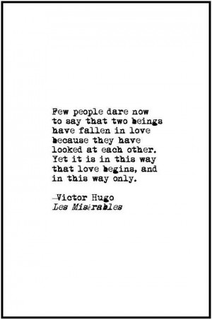 Les Miserables love quote retro typewriter by JenniferDareDesigns, $10 ...