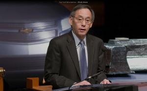 Department of Energy Secretary Steven Chu 1