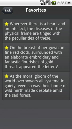 The Scarlet Letter Romanticism Quotes