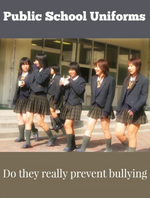 Do Public School Uniforms Really Prevent Bullying?