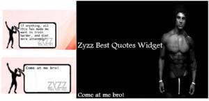 Zyzz Best Quotes Widget
