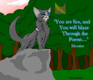 Warrior Cat Blue Star As Wolf