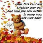 that you feel better soon hope you feel better soon