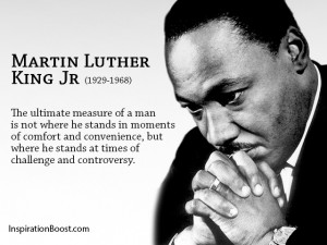 Martin Luther King Jr Challenges Quotes