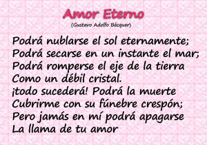 image of love poem in spanish