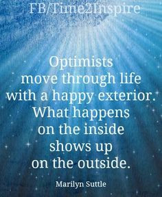 Optimists quote via