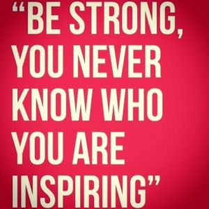 Inspire someone else. #quotes
