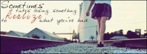 Girl, quote, facebook, cover, timeline