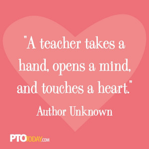 quote.: Teacher Inspirational Quotes, Teacher Appreciation, Teachers ...