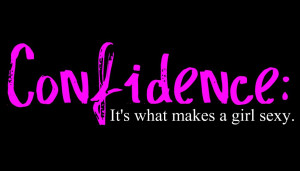 Nice Confidence Quote for Orkut ~ Confidence its What makes a Girl ...