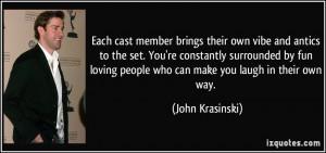 More John Krasinski Quotes