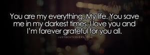 love you quotes for him 1 you are my everything quotes for her