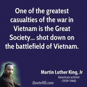 Martin Luther King, Jr. - One of the greatest casualties of the war in ...