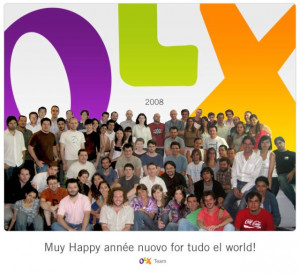 Happy New Year from the OLX Team!