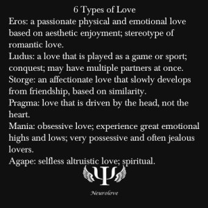 love psychology
