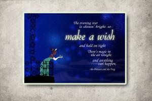 Disney Princess Tiana quote. :)