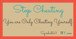 Do Not Cheat It's not easy to not cheat.