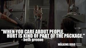 The Walking Dead quotes Bethgreen Thewalkingdead, The Walking Dead ...