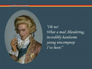 Blackadder Prince George wallpaper