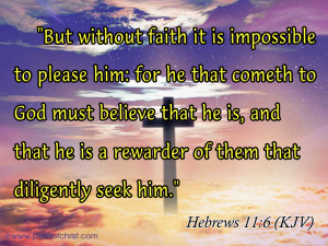 Hebrew11:6 Image