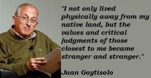 Juan goytisolo famous quotes 1