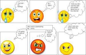 6th Grade Cyber-Bullying Comic Strips