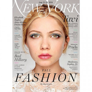 Tavi Gevinson Accomplishes The Impossible, Makes Blue Eyeshadow Look ...