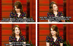 Tina Fey's daughter sounds hilarious. | Funny Pictures, Quotes ...