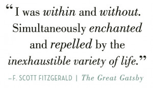Scott Fitzgerald The Great Gatsby Quotes of The Great Gatsby