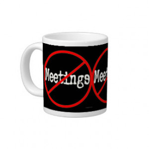 Meeting Sayings Mugs