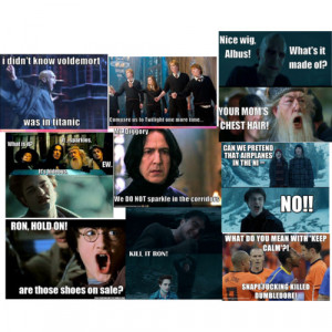 Funny harry potter quotes - Polyvore