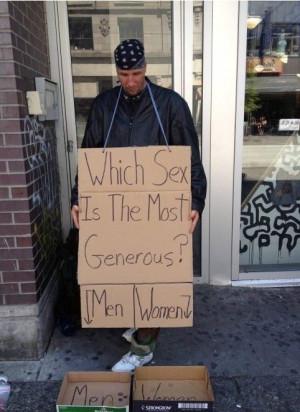 Funny Hobo Homeless Signs